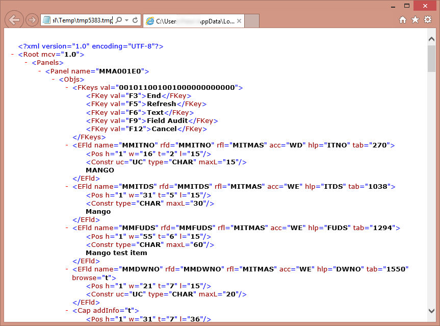 Getting values from M3 panels with Jscript (2/2)