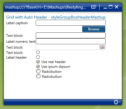 Building a Mashup UI - Margins and alignment explained (5/6)
