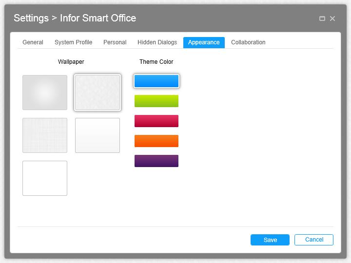 Infor Smart Office 10.1 is GA (2/3)