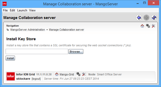 Manage Collaboration Server