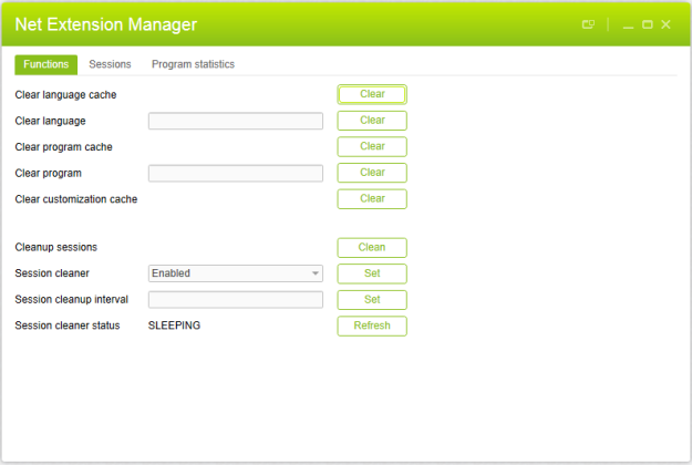 Net Extension Manager