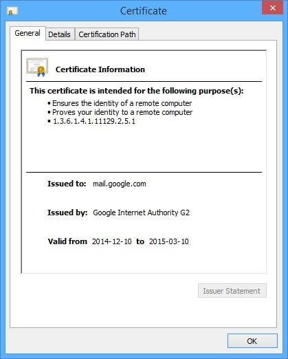 SSL_CertGeneral