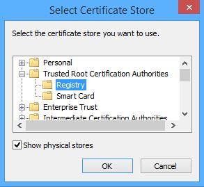 SSL_SelectStore