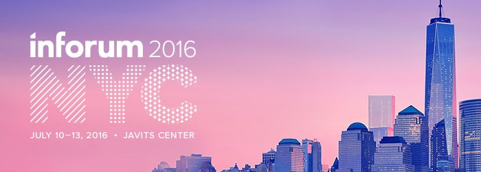 Inforum in New York | Developing for Infor Smart Office