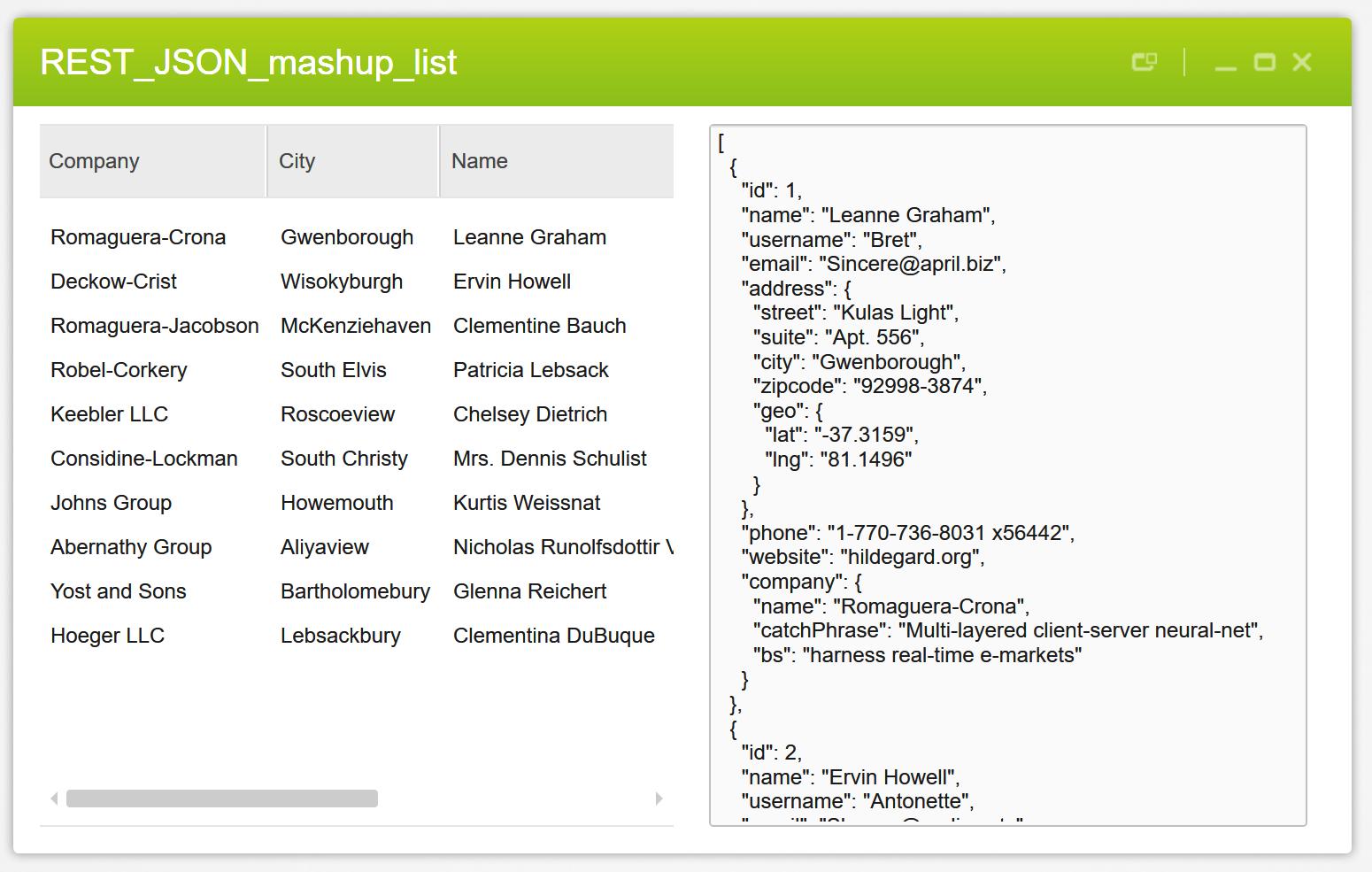 Mashup_REST_JSON_LIST