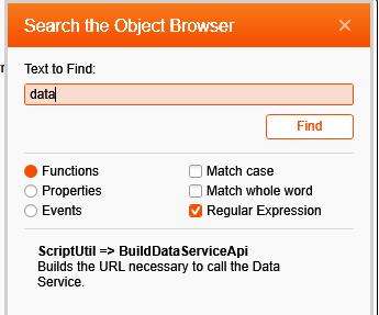 SearchObjectBrowser